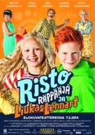 Risto Räppääjä ja liukas Lennart - Finnish Movie Poster (xs thumbnail)