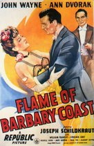 Flame of Barbary Coast - Movie Poster (xs thumbnail)