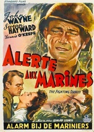 The Fighting Seabees - Belgian Movie Poster (xs thumbnail)