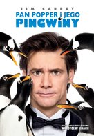 Mr. Popper's Penguins - Polish Movie Poster (xs thumbnail)