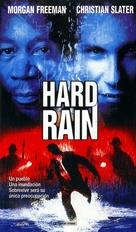 Hard Rain - Spanish VHS movie cover (xs thumbnail)