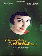 Le fabuleux destin d'Amélie Poulain - French Movie Cover (xs thumbnail)