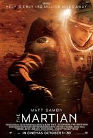 The Martian - Singaporean Movie Poster (xs thumbnail)