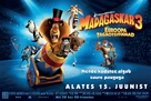 Madagascar 3: Europe's Most Wanted - Estonian Movie Poster (xs thumbnail)