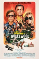 Once Upon a Time in Hollywood - Swiss Movie Poster (xs thumbnail)