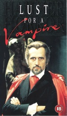 Lust for a Vampire - British VHS movie cover (xs thumbnail)