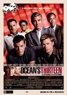 Ocean's Thirteen - Hungarian Movie Poster (xs thumbnail)