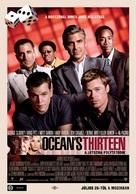 Ocean's Thirteen - Hungarian Movie Poster (xs thumbnail)
