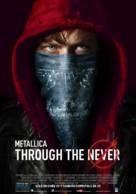 Metallica Through the Never - Argentinian Movie Poster (xs thumbnail)