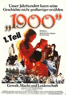 Novecento - German Movie Poster (xs thumbnail)