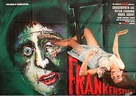 The Curse of Frankenstein - German Movie Poster (xs thumbnail)
