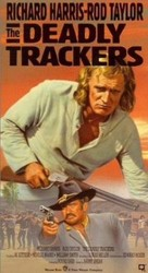 The Deadly Trackers - VHS cover (xs thumbnail)