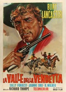 Vengeance Valley - Italian Movie Poster (xs thumbnail)