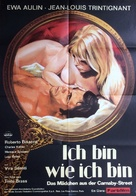 Col cuore in gola - German Movie Poster (xs thumbnail)