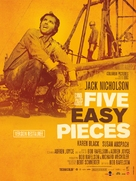 Five Easy Pieces - French Re-release poster (xs thumbnail)
