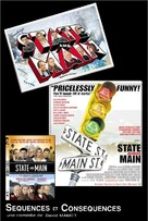 State and Main - French Movie Poster (xs thumbnail)