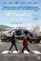 Visages, villages - Turkish Movie Poster (xs thumbnail)