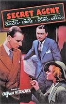 Secret Agent - Movie Poster (xs thumbnail)