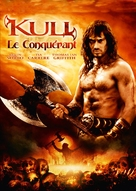 Kull the Conqueror - French DVD cover (xs thumbnail)