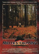 Miller's Crossing - French Movie Poster (xs thumbnail)