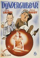 The Big Noise - Swedish Movie Poster (xs thumbnail)