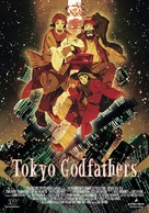 Tokyo Godfathers - Italian Theatrical poster (xs thumbnail)