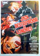 Jack el destripador de Londres - Italian Movie Poster (xs thumbnail)