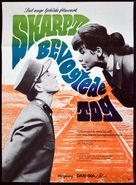 Ostre sledované vlaky - Danish Movie Poster (xs thumbnail)