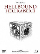 Hellbound: Hellraiser II - German Blu-Ray cover (xs thumbnail)