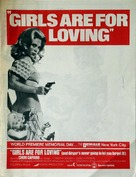 Girls Are for Loving - Movie Poster (xs thumbnail)
