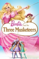 Barbie and the Three Musketeers - DVD cover (xs thumbnail)