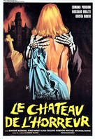 Terror! Il castello delle donne maledette - French Movie Poster (xs thumbnail)