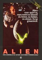 Alien - German Movie Poster (xs thumbnail)