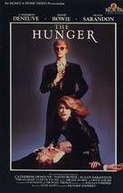 The Hunger - VHS movie cover (xs thumbnail)