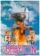 Good Morning, Babylon - German Movie Poster (xs thumbnail)