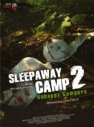 Sleepaway Camp II: Unhappy Campers - Canadian Movie Cover (xs thumbnail)