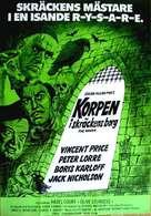 The Raven - Swedish Movie Poster (xs thumbnail)
