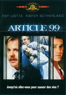 Article 99 - French DVD movie cover (xs thumbnail)