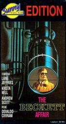 L'affare Beckett - German VHS movie cover (xs thumbnail)