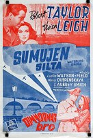 Waterloo Bridge - Finnish Movie Poster (xs thumbnail)