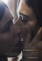Disobedience - Spanish Movie Poster (xs thumbnail)