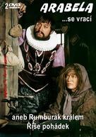 """""""Arabela se vrací"""" - Czech DVD movie cover (xs thumbnail)"""