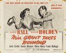Miss Grant Takes Richmond - Re-release poster (xs thumbnail)