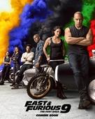 Fast & Furious 9 - British Movie Poster (xs thumbnail)