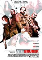 Four Brothers - German Movie Poster (xs thumbnail)
