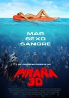 Piranha - Chilean Movie Poster (xs thumbnail)