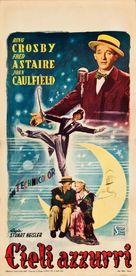 Blue Skies - Italian Movie Poster (xs thumbnail)