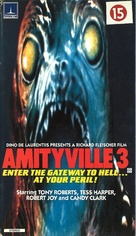 Amityville 3-D - British VHS movie cover (xs thumbnail)