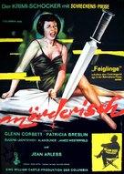 Homicidal - German Movie Poster (xs thumbnail)