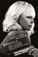 Atomic Blonde - Estonian Movie Poster (xs thumbnail)